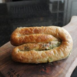 CC - Spinach with cheese turkish pasteries