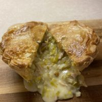 Chick and Leek Pie